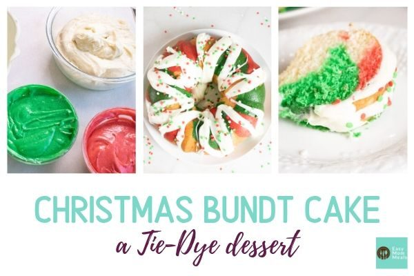 Fun Christmas wreath bundt cake