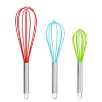 Silicone whisks