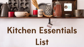 Kitchen Essentials List - {for easy meal prep}