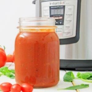 Instant Pot Homemade Spaghetti Sauce