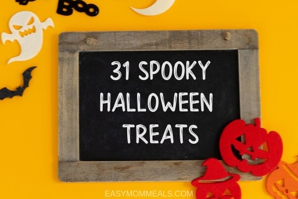 31 spooky halloween treats