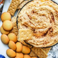 Pumpkin Cheesecake Dip: No-Bake Dessert Appetizer