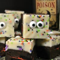 Halloween Monster Fudge - Crafty Morning