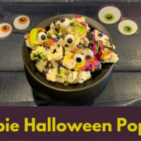 Zombie Popcorn - Halloween Party Treat