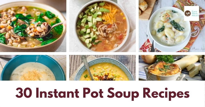 Instant Pot soup recipes
