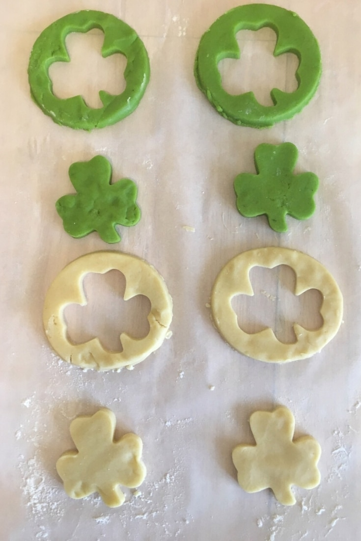 st patricks day sugar cookies