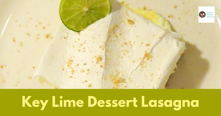 easy key lime dessert