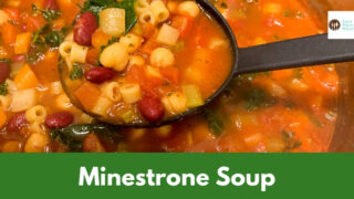 Flavorful Minestrone Soup Recipe {with Kale & Chickpeas}