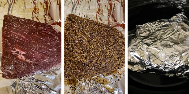 how to cook a flat brisket