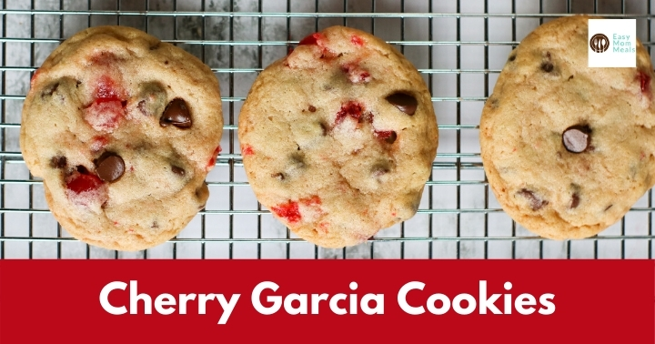 Cherry Garcia Cookies {Cherry Chocolate Chip}