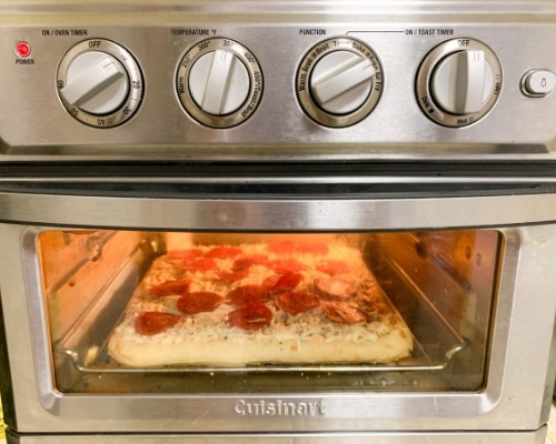 Pizza in air fryer