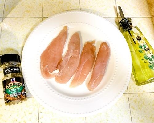 air fryer chicken ingredients